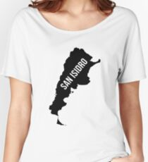San Isidro, Argentina Silhouette Women's Relaxed Fit T-Shirt