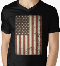 USA US American Flag Vintage Distressed  T-Shirt