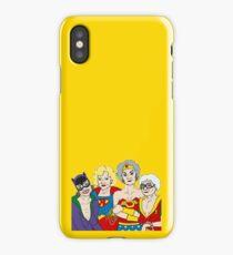 Golden Heroes iPhone Case/Skin