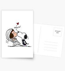 Snoopy Lucy Star Wars Postcards