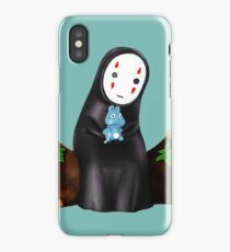 No Face in a Tree Trunk  iPhone Case/Skin