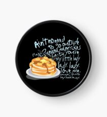 Banana Pancakes Clock