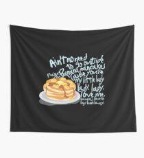 Banana Pancakes Wall Tapestry