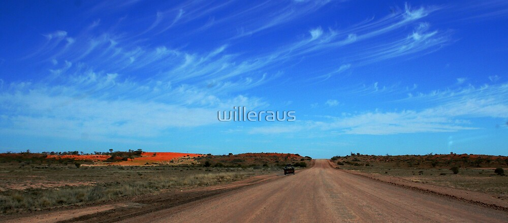 Australian Outback Road by willeraus