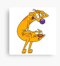 Looking For CatDog Canvas Print