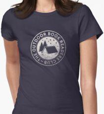 Logo des Außenbuch-Leser-Vereins Tailliertes T-Shirt