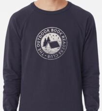 Outdoor Book Readers Club logo Lightweight Sweatshirt