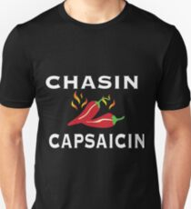 Chasin Capsaicin Spicy Food Lover Unisex T-Shirt
