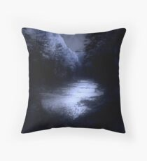Eerie Tranquility Throw Pillow