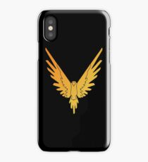 The Fly Bird - Gold iPhone Case/Skin