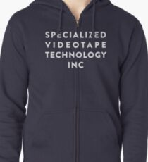SVT Specialized Videotape Technology INC Zipped Hoodie
