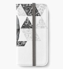 Dias de Los Geomuertos iPhone Flip-Case/Hülle/Klebefolie