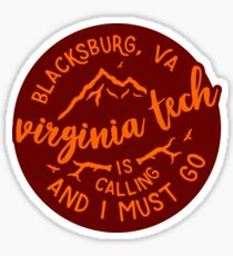 Virginia Tech - Style 51 Sticker