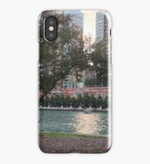 Along The Chicago River iPhone Case