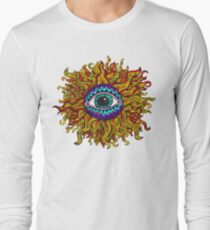 Psychedelic Sunflower - Just the flower T-Shirt