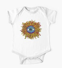 Psychedelic Sunflower - Just the flower Kids Clothes