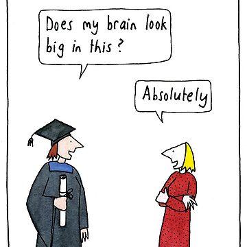 Graduation Brain by judyhoracek