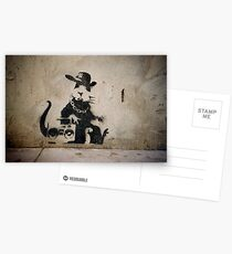 Gangsta Rat Postcards