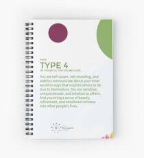 Cuaderno de espiral Eneagrama tipo 9 - Agradecido por ti