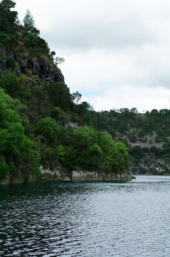Blue Lake  by Biggzie