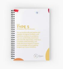 Cuaderno de espiral Eneagrama tipo 5 - Agradecido por ti