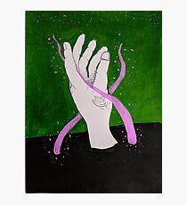 hand:green Photographic Print