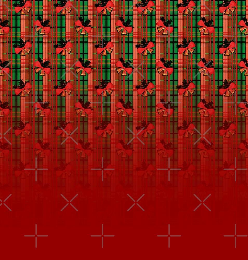 xmas plaid pattern von cglightNing