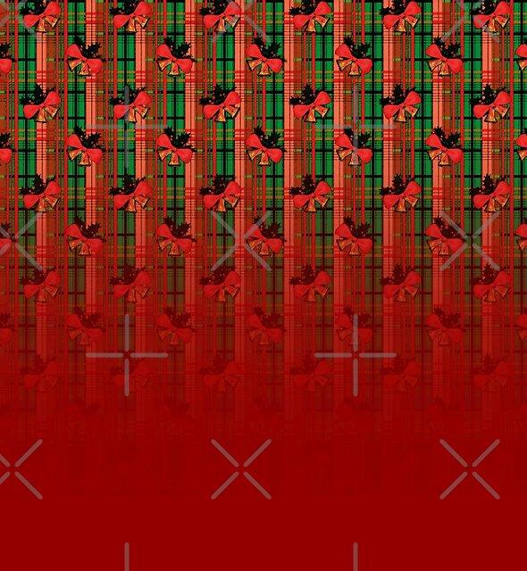 xmas plaid pattern by cglightNing