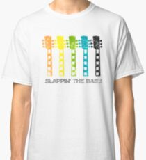 Vintage Guitar Graphic: Slappin' The Bass Classic T-Shirt