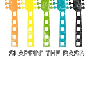 Vintage Guitar Graphic: Slappin' The Bass by BudinInnovation