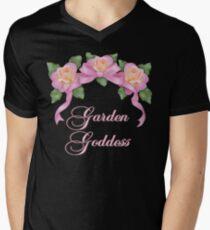 Garden Goddess Men's V-Neck T-Shirt