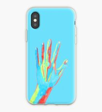 Colorful Watercolor Hand iPhone Case