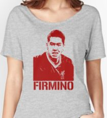 Roberto Firmino Liverpool Women's Relaxed Fit T-Shirt
