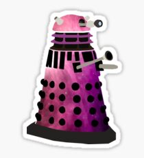 Trippy Dalek Sticker