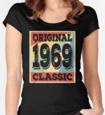 Original 1969 Classic Birthday Gift Women's Fitted Scoop T-Shirt