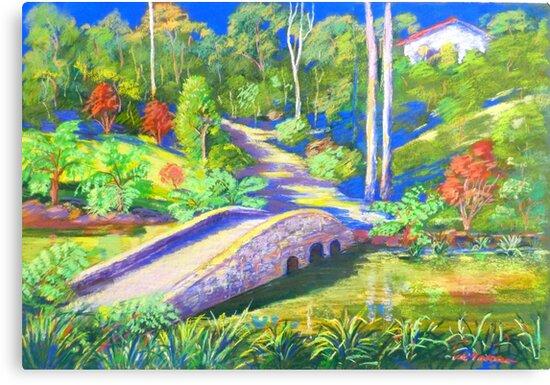 Quot Tamborine Mountain Botanical Garden Quot Canvas Prints By