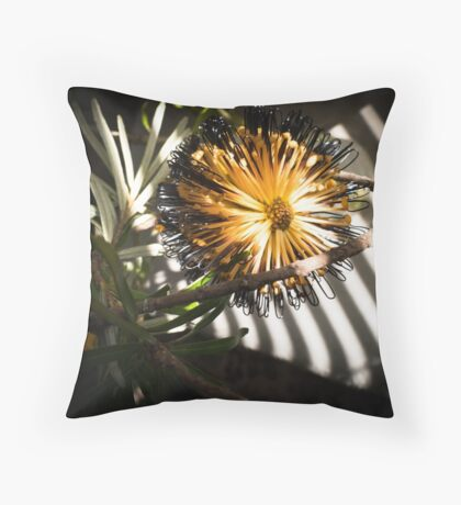 Banksia Still Life Throw Pillow