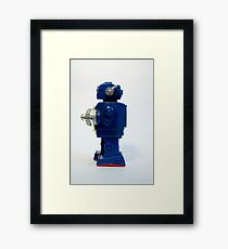 Robot Art Framed Print
