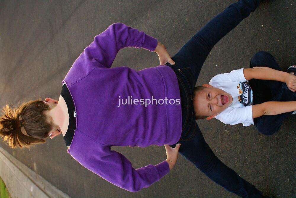 Get Off My Head by juliesphotos