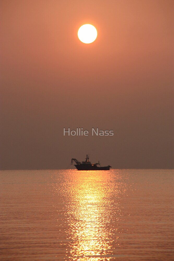 Venetian sunrise  by Hollie Nass