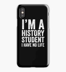 History Student iPhone Case/Skin