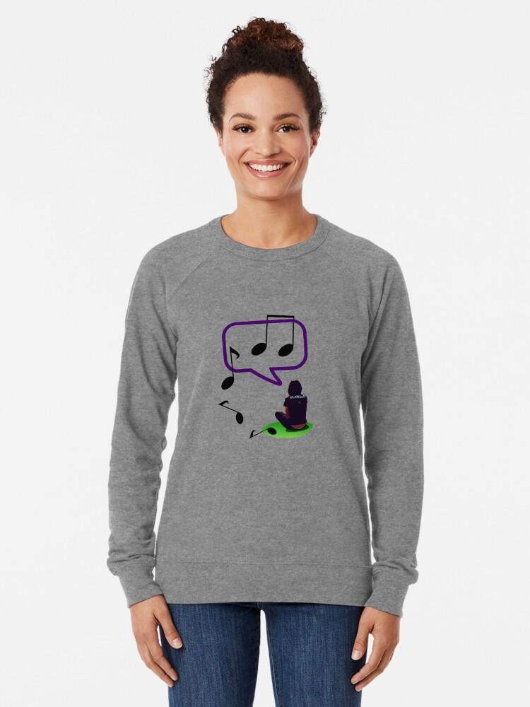Alternate view of musique Lightweight Sweatshirt