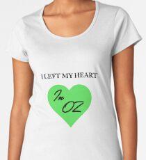 Left My Heart In Oz Women's Premium T-Shirt
