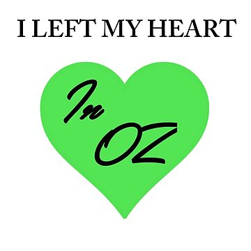 Left My Heart In Oz by Specialstace83