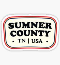 Sumner County | Retro Badge Sticker