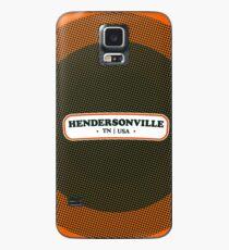 Hendersonville   Retro Badge Case/Skin for Samsung Galaxy