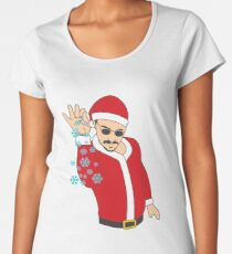 Salt Bae Santa Women's Premium T-Shirt