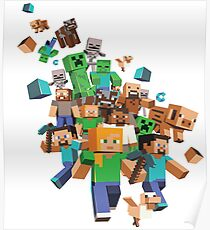 Minecraft Collage Poster