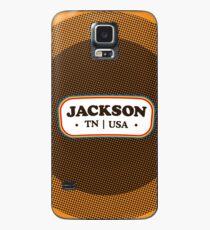 Jackson   Retro Badge Case/Skin for Samsung Galaxy