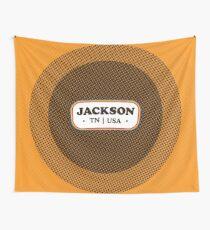 Jackson   Retro Badge Wall Tapestry